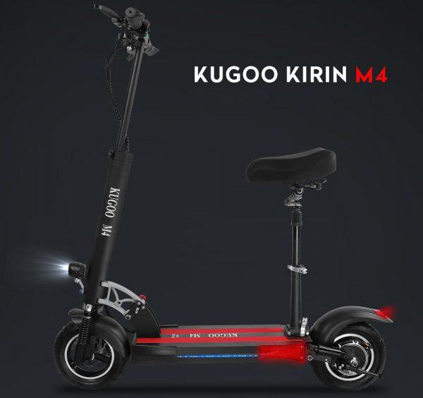 Hulajnoga elektryczna z krzesełkiem Kugoo m4
