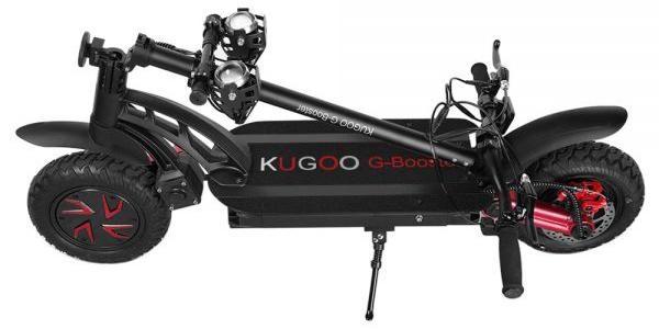 Hulajnoga elektryczna Kugoo g-booster złożona
